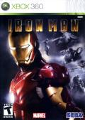 Iron Man Xbox 360 Front Cover