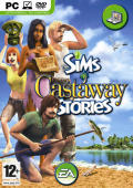 The Sims: Castaway Stories Windows Front Cover