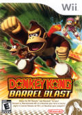 Donkey Kong Barrel Blast Wii Front Cover