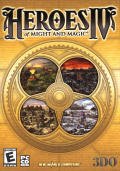 Heroes of Might and Magic IV Windows Front Cover