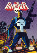 The Punisher NES Front Cover