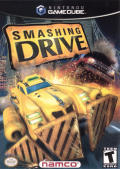 Smashing Drive GameCube Front Cover