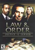 Law & Order: Justice is Served Windows Front Cover