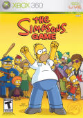 The Simpsons Game Xbox 360 Front Cover