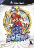 Super Mario Sunshine GameCube Front Cover