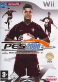 PES 2008: Pro Evolution Soccer Wii Front Cover