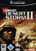 Conflict: Desert Storm II: Back to Baghdad GameCube Front Cover