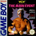 WCW Wrestling: The Main Event Game Boy Front Cover