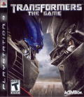 Transformers: The Game PlayStation 3 Front Cover