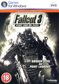 Fallout 3: Game Add-on Pack - Broken Steel and Point Lookout Windows Front Cover