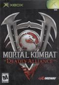 Mortal Kombat: Deadly Alliance Xbox Front Cover