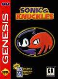 Sonic & Knuckles Genesis Front Cover