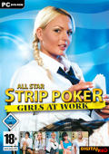 All Star Strip Poker: Girls at Work Windows Front Cover