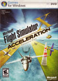 Microsoft Flight Simulator X: Acceleration Windows Front Cover