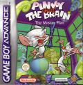 Pinky and The Brain: The Master Plan Game Boy Advance Front Cover