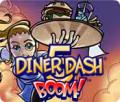 Diner Dash 5: BOOM! Macintosh Front Cover