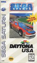 Daytona USA SEGA Saturn Front Cover