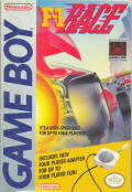 F-1 Race Game Boy Front Cover