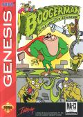 Boogerman: A Pick and Flick Adventure Genesis Front Cover