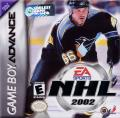 NHL 2002 Game Boy Advance Front Cover