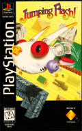 Jumping Flash! PlayStation Front Cover