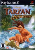 Disney's Tarzan Untamed PlayStation 2 Front Cover