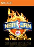 NBA Jam: On Fire Edition Xbox 360 Front Cover