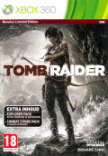 Tomb Raider (Benelux Limited Edition) Xbox 360 Front Cover