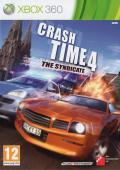 Crash Time 4: The Syndicate Xbox 360 Front Cover