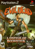 Evil Dead: A Fistful of Boomstick PlayStation 2 Front Cover