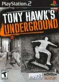 Tony  Hawk's Underground PlayStation 2 Front Cover