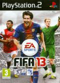 FIFA 13 PlayStation 2 Front Cover