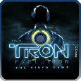 TRON: Evolution - The Video Game PSP Front Cover
