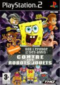 Nicktoons: Attack of the Toybots PlayStation 2 Front Cover