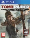 Tomb Raider: Definitive Edition PlayStation 4 Front Cover