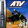 ATV: Quad Power Racing Game Boy Advance Front Cover
