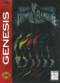 Mighty Morphin Power Rangers: The Movie Genesis Front Cover