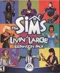 The Sims: Livin' Large Windows Front Cover