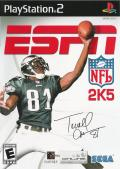 ESPN NFL 2K5 PlayStation 2 Front Cover