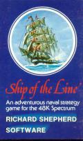 Ship of the Line ZX Spectrum Front Cover