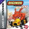 Digimon Racing Game Boy Advance Front Cover