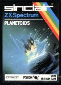 Planetoids ZX Spectrum Front Cover