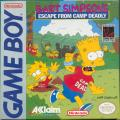 Bart Simpson's Escape from Camp Deadly Game Boy Front Cover