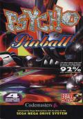 Psycho Pinball Genesis Front Cover