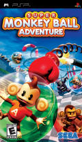Super Monkey Ball Adventure PSP Front Cover