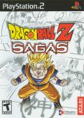 Dragon Ball Z: Sagas PlayStation 2 Front Cover