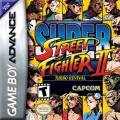 Super Street Fighter II: Turbo Revival Game Boy Advance Front Cover