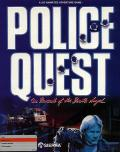 Police Quest: In Pursuit of the Death Angel Apple II Front Cover