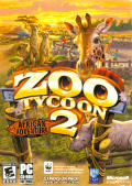 Zoo Tycoon 2: African Adventure Windows Front Cover