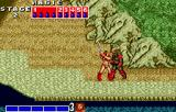 Golden Axe WonderSwan Color Fighting a red guy